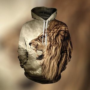 Other - 3D Lion Hoodie! Offers Welcome! BRAND NEW! 🔥